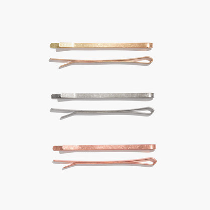 Enamel-Coated Hair Pins