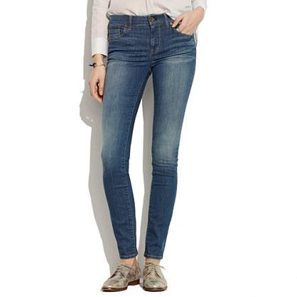 Skinny Skinny Jeans in Sky Wash