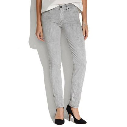 Skinny Skinny Jeans in Crackle Print