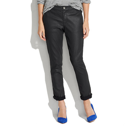 Coated Denim Rivington Trousers