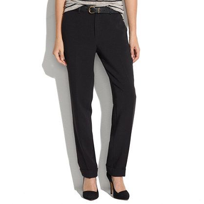 Tapered Tuxedo Trousers