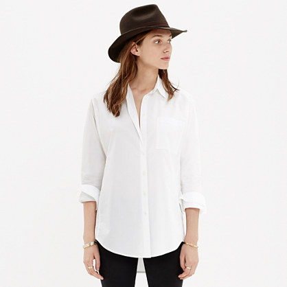 Oversized Button-Down Shirt