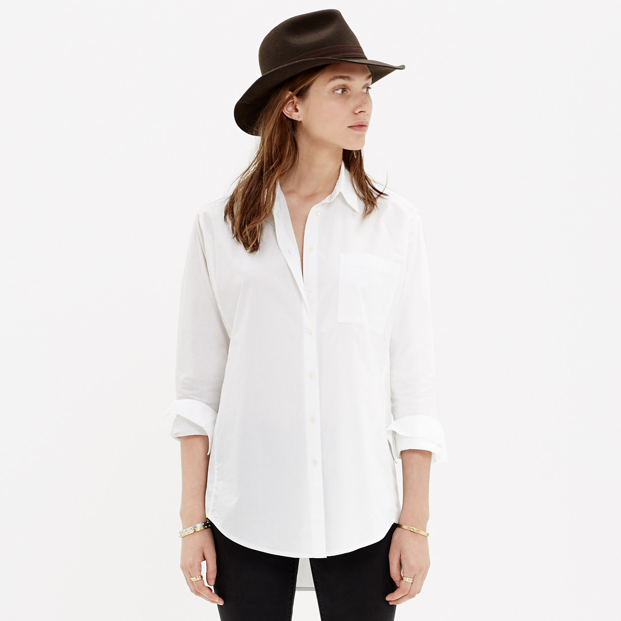 Oversized Button-Down Shirt : button-up & popover shirts | Madewell