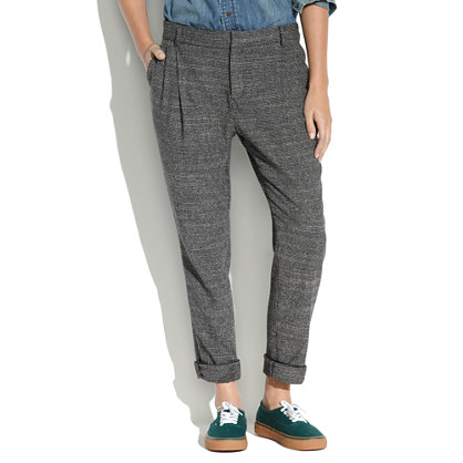 Tailored Trousers in Runningstitch