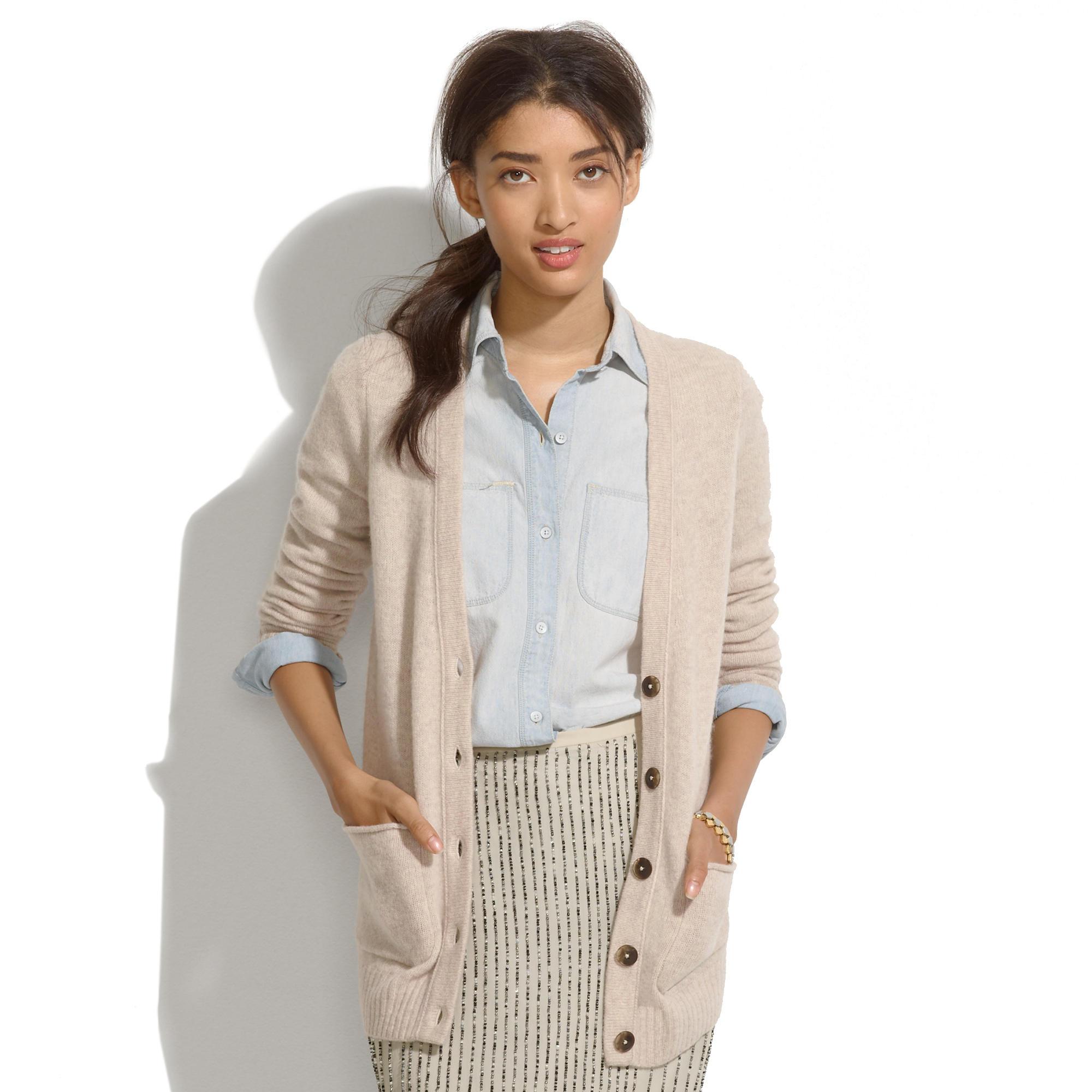 Coffeeshop Cardigan : cardigans & sweater-jackets | Madewell