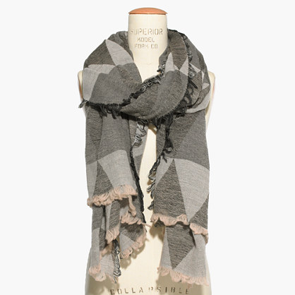 Mountain Shadow Scarf