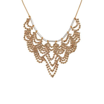 Shimmer Drape Necklace