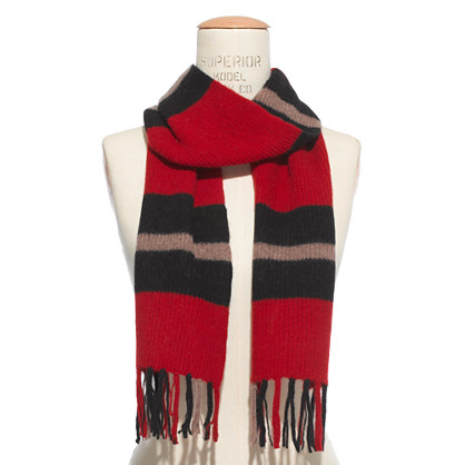 Perfectly Shrunken Stripe Scarf