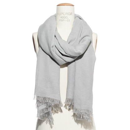 Twill Weave Scarf