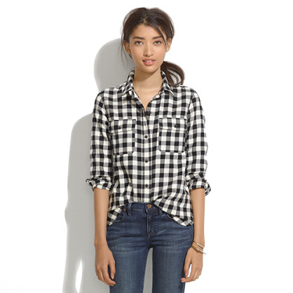 Ex-Boyfriend Shirt in Buffalo Plaid
