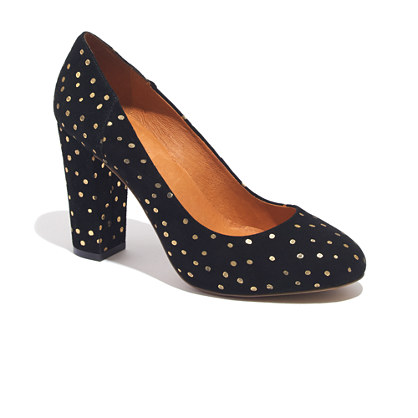 The Frankie Pump in Foil Dot