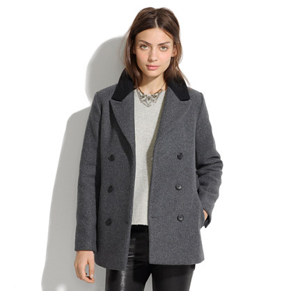 Belted Military Coat : coats | Madewell
