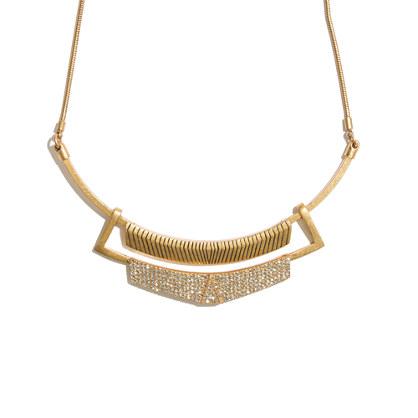 Pavé Frame Necklace