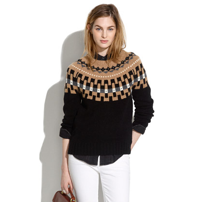 Modern Slope Sweater