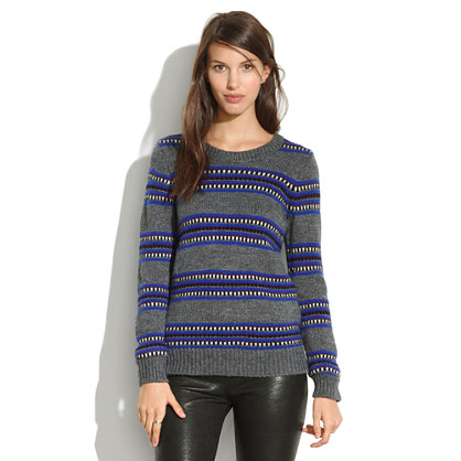 Turret Striped Sweater
