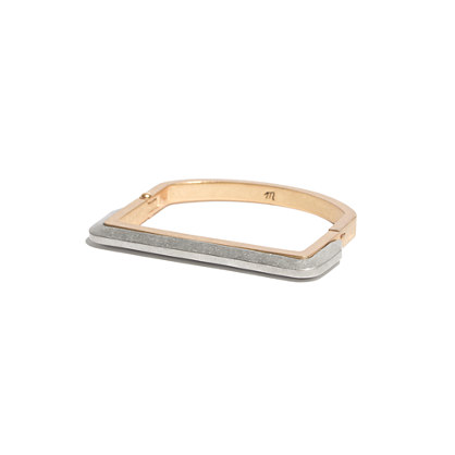 Two-Tone Frame Bangle