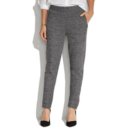 Ankle-Zip Slouchpants