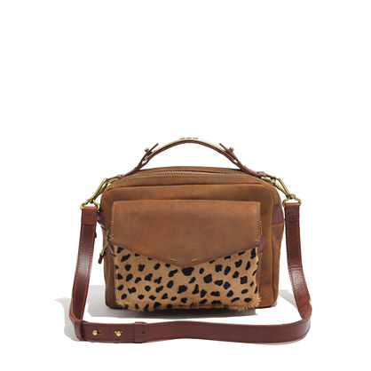 The Eaton Shoulder Bag in Printed Calf Hair