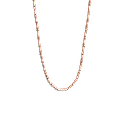Rosy Dotdash Necklace