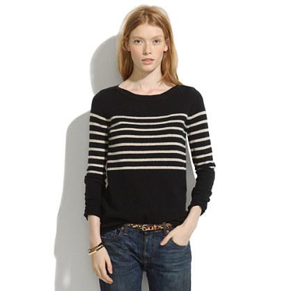 Stripeblock Gamine Sweater