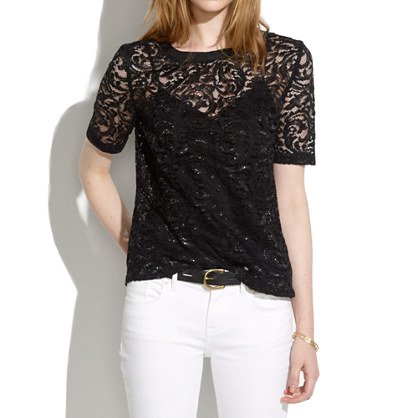 Night Lace Tee