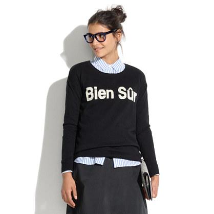 Bien Sûr Sweater