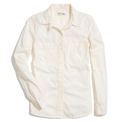 Washed Cotton Boyshirt