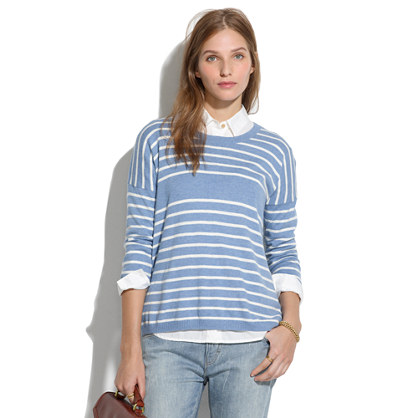 Center Striped Sweater
