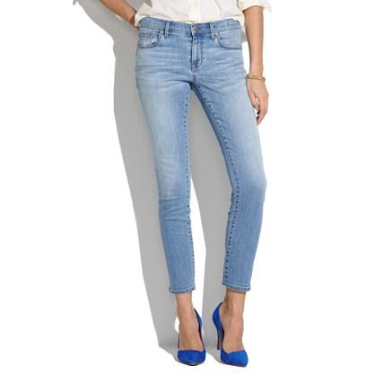 Skinny Skinny Crop Jeans in Mist : skinny skinny crop jeans | Madewell