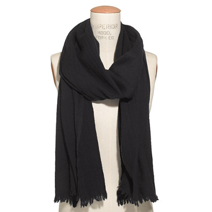Washed Wool Scarf