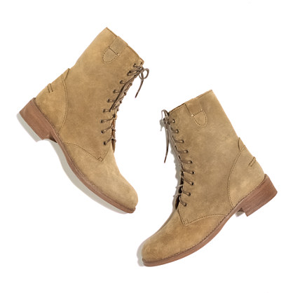 The Foothill Lace-Up Boot in suede