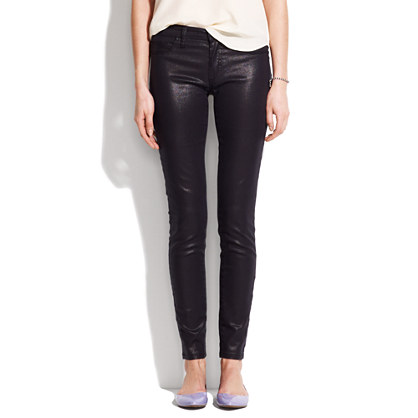 [BlankNYC] metallic coated skinny jeans