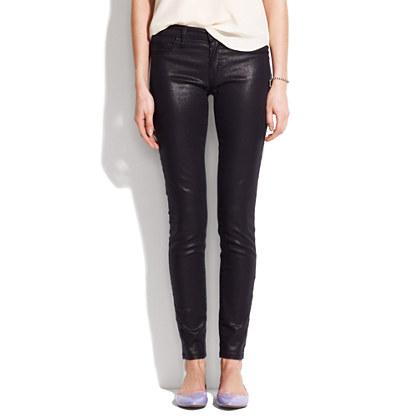 [BlankNYC] metallic coated skinny jeans