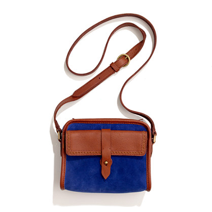 The Camden Bag in suede