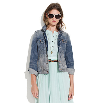 The Jean Jacket : jackets | Madewell