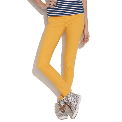 Skinny Skinny Ankle Jeans in Warm Honeysuckle