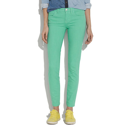Skinny Skinny Ankle Jeans in Soft Mint