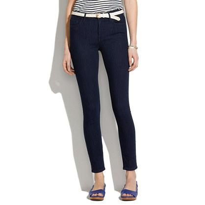 Skinny Skinny Ankle High Riser Jeans in Dusk Wash