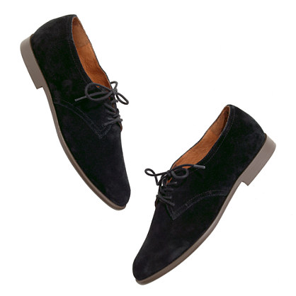 The Bobbie Oxford in suede