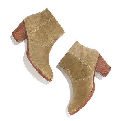 The Zipcode Boot in Suede