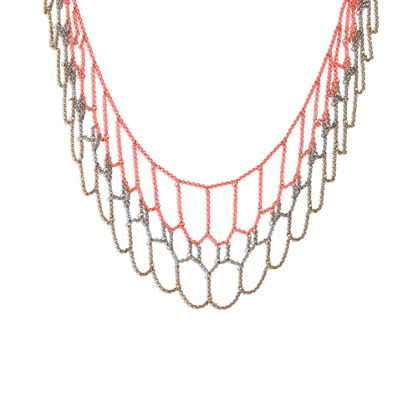 Chain-Weave Necklace