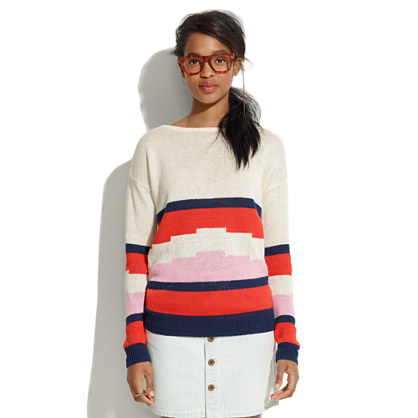 Blockstep Sweater
