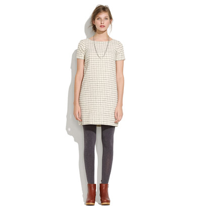 Wool Switchboard Shiftdress