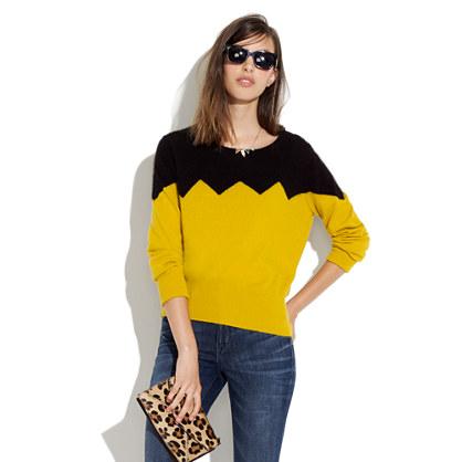 Something Else by Natalie Wood Zigzag Sweater