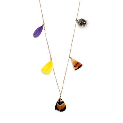 Featherfan Necklace