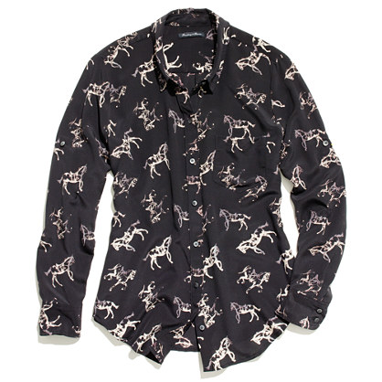 Silk Horseplay Boyshirt