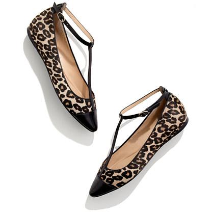 Belle by Sigerson Morrison® Variee Leopard Flats