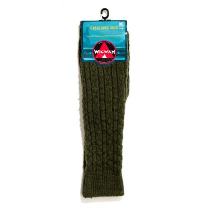 Wigwam® Cable Knee Socks
