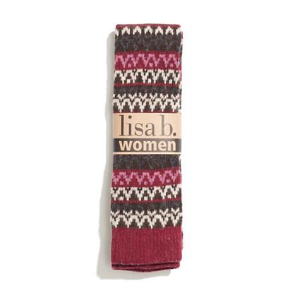 Lisa b.® Fair Isle Knee Socks