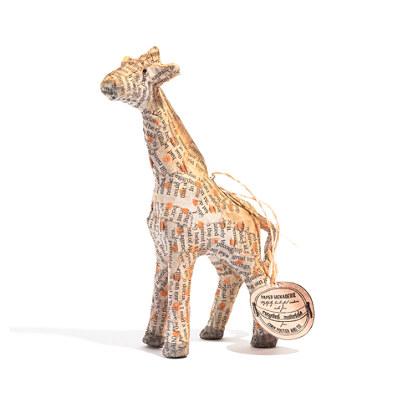 Cody Foster Recycled Paper Giraffe